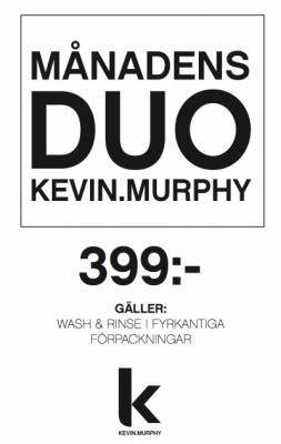 Månadens Duo Kevin Murphy